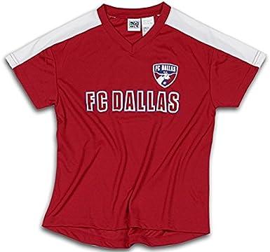 FC Dallas MLS fútbol niños – Camiseta de fútbol, color rojo: Amazon.es: Ropa y accesorios