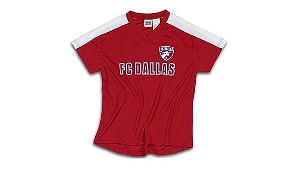 Outerstuff FC Dallas MLS Fútbol Niños - Camiseta de Fútbol, Color Rojo: Amazon.es: Ropa y accesorios