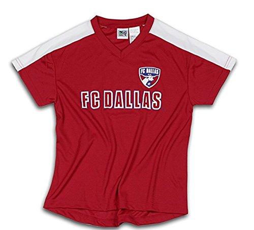 Outerstuff FC Dallas MLS Fútbol Niños – Camiseta de Fútbol, Color Rojo
