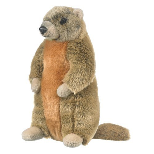 Marmot Groundhog Woodchuck Stuffed Animal Plush Yellow