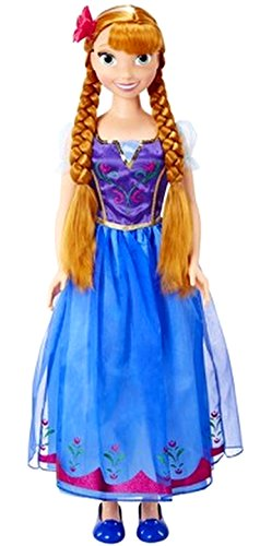 Disney Frozen My Size Anna Doll (Frozen Size Doll My Elsa)