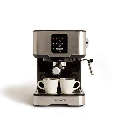 IKOHS THERA Easy Latte – Cafetera Express Semiautomática 20b, para Espresso, Cappucino, Macchiato, 1100W, Vaporizador…