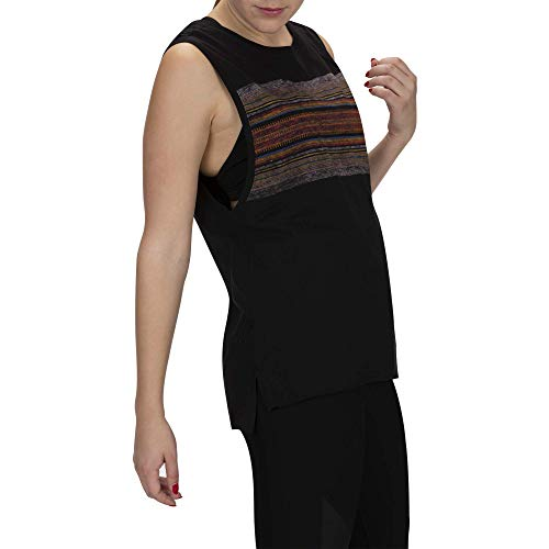 Black Hurley Top Maglietta Angeacadia Donna Tank gaw6EUq