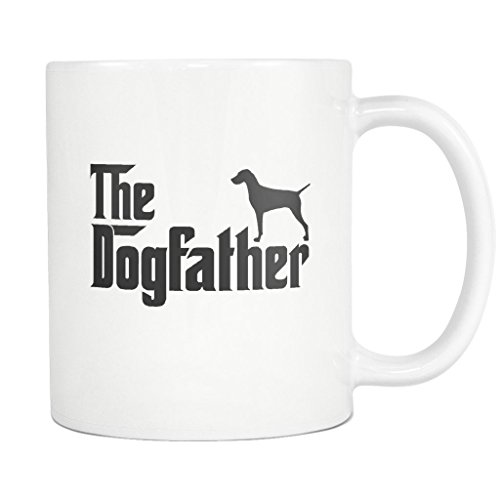 Vizsla DogFather Coffee Mug Funny Gift Tea Cup White for sale  Delivered anywhere in USA