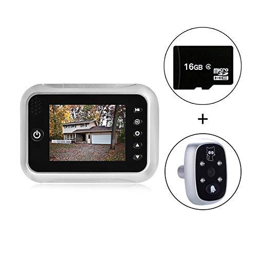 """3.5"""" TFT LCD Screen Digital Doorbell Security Camera Door Peephole"""