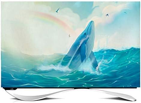Ting Ting Cubiertas Protectoras Decoración De Dibujos Animados TV LCD Cubierta De Polvo Computadora Display Cubierta De Tela Tingting-Funda para Monitor (Color : Fish, Size : 40 Inches): Amazon.es: Hogar