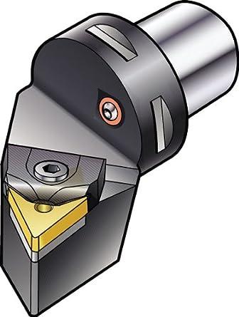 Cx-MTJNR//L Tool Sandvik Coromant C6-MTJNR-45065-22 T-Max P Cutting Unit for Turning 65 mm Functional Length Right Hand 45 mm Functional Width TNMG 22 04 08 Master Insert 44 mm Shank Diameter
