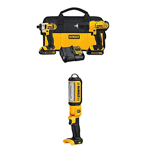 DEWALT DCK240C2 20v Lithium Drill Driver/Impact Combo Kit with