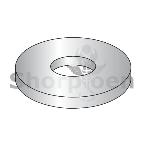 Fender Washer 316 Stainless Steel 1/2 x 1 1/2 (Box of 500) weight9Lbs by Korpek.com
