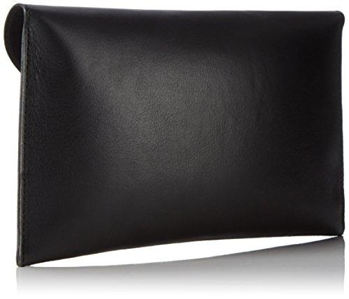 Bags4Less - Cartera de mano con asa para mujer Marrón Size: S negro (negro)