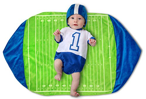 Princess Paradise Swaddle Wings Baby Costume, Football, 0 to 3 Months -