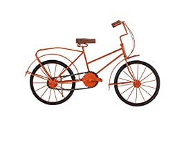 GwG Outlet Metal Wooden Bicycle Statue 18\