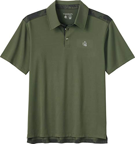 Legendary Whitetails Men's Deadeye Performance Polo Shirt Army X-Large
