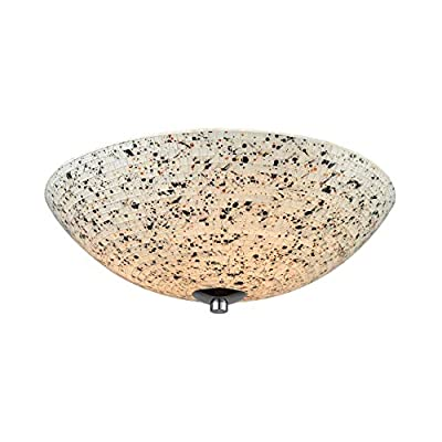 "Elk Lighting 10740/3 Close-to-Ceiling-Light-fixtures 6 x 16 x 16"" Brown"