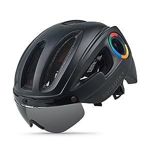 41mjDjMoaqL. SS300 Exclusky Casco da Ciclismo per Sport e Tempo Libero 54-58cm