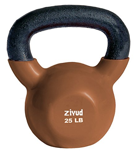 Gymenist Exercise Kettlebell Fitness Workout Body Equipment Choose Your Weight Size (25 LB)