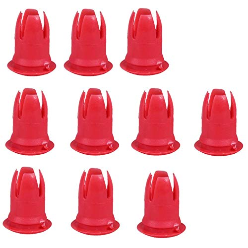 Bapmic 0019882081 Moulding Trim Clips for Mercedes Benz R107 W108 W109 W123 R129 (Pack of 10) ()