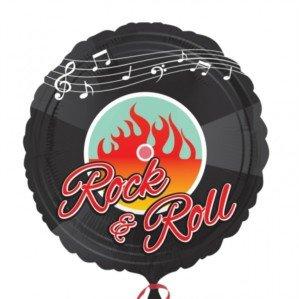- Amscan 50s Rock-N-Roll Standard Hx Foil Balloon