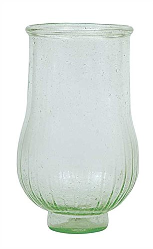 Green Recycled Hand-Blown Glass Tealight Holder - Set Of 3
