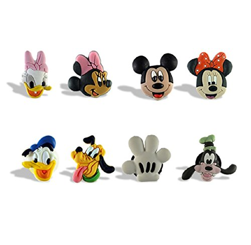 Disney's Mickey Mouse & Friends Set of 8 Fridge (Disney Magnets)