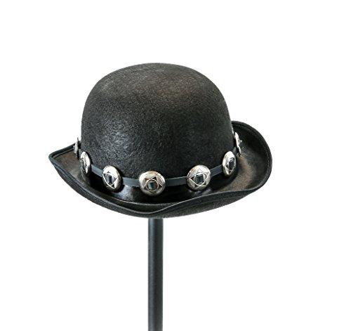 Velvetcrow Black Derby Hat 5