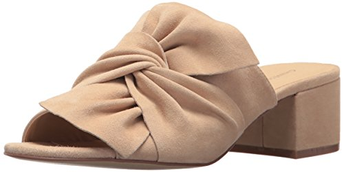 Chinese Laundry Women's Marlowe Slide Sandal Nude Suede RKVHZq5GlX