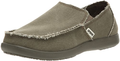 Crocs Men's Santa Cruz Slip-On Loafer,Chocolate/Chocolate...