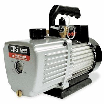 CPS Products VP2S Pro-Set Single Stage Vacuum Pump, 2 cfm, 10 micron (Pro Stages)