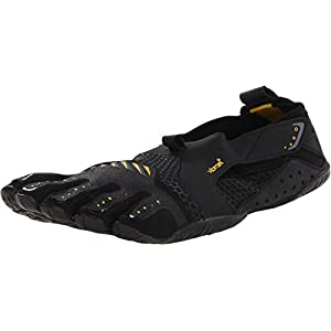 Vibram Men's Signa Water Shoe, Black/Yellow,45 EU/11-11.5 M US