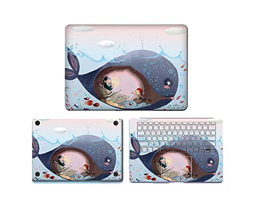 Cute Laptop Sticker for Macbook Pro Air 11 13 15 Retina 2018 Air Full Body Skin Cover Protector Sticker Protector Skin,Air 11 Inch,008