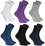 6 pairs of Multicolored COTTON Socks Casual Style, produced in Europe, size XS