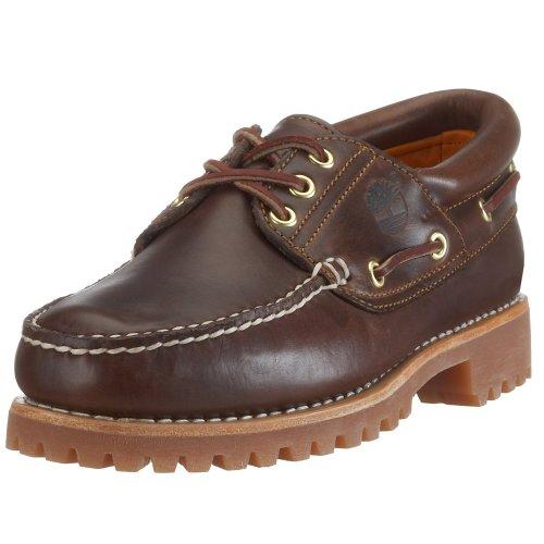 Timberland Heritage 3-Eye Classic Lug Herren Bootsschuhe, Braun (Brown Pull Up), 40 EU