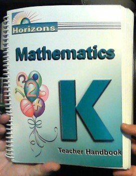 Horizons Math Teacher's Guide Grade K by Alan L Christopherson (2000) Spiral-bound