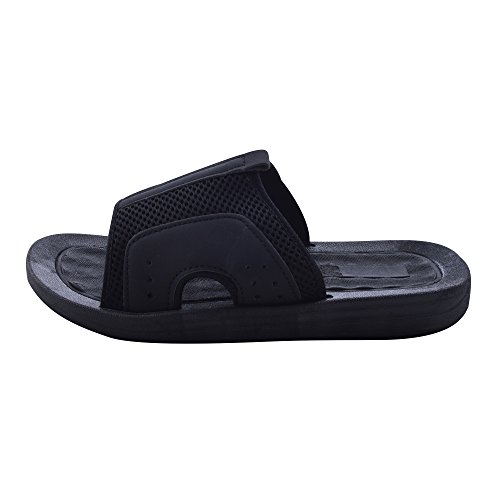 Mesh Black Slide black with Mens Skysole Sandals Upper Rugged FEzESq