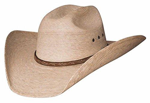 Montecarlo / Bullhide Hats - JASON - 10X Palm Leaf Straw Western Cowboy Hat -