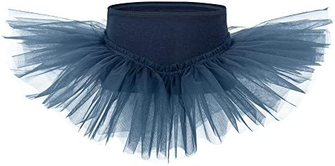 tanzmuster Falda tutú de Ballet Pia para niñas en Azul Marino ...