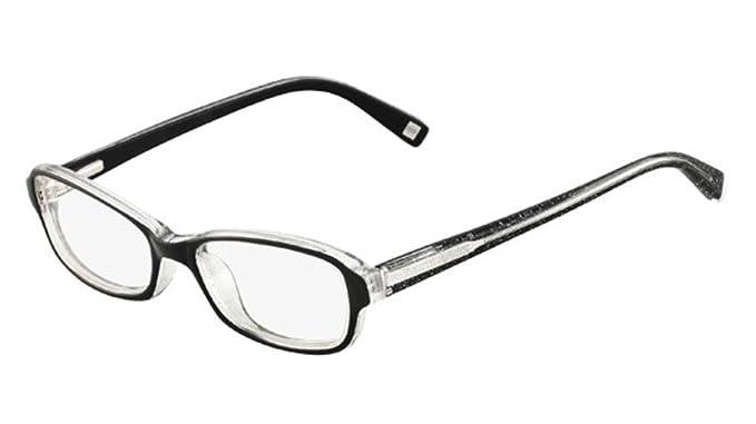 Nine West Eyeglasses NW5024 023 Black Glitter 49 16 at Amazon Men\'s ...