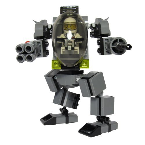 Custom LEGO Mech Armed Sentry Suit Kit