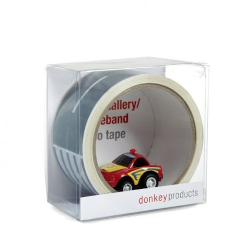 Create a Road Tape with Toy Car Playset