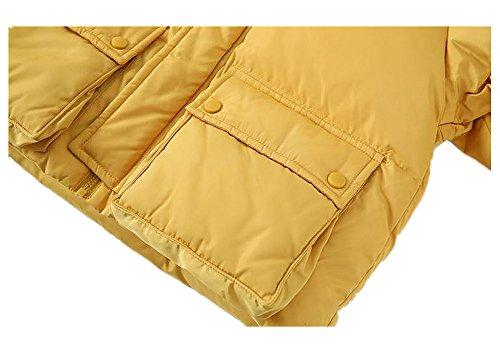 QJH New Pattern Boys Girls Fashion Down Coat Childrens' Puffer Hoody Jacket by QJH (Image #3)
