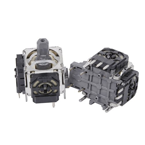 2pcs Qunqi 3D Joystick Wireless Controller Rocker for Playstation 4 PS4 Controller