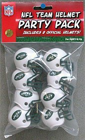 New York Jets Team Helmet Party Pack