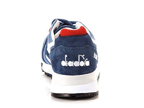 Diadora Heritage Herren N9000BLUE Blau Wildleder Sneakers