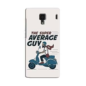Cover It Up - Super Average Guy Redmi 1s Hard Case