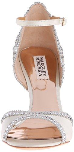 Badgley Mischka Sandalias de mujer Roxy vestido Ivory