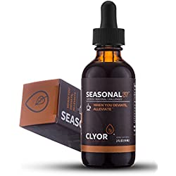Seasonal37 - Cold Remedy - Fast Acting Cold Relief - All Natural Herbal Immune Booster Cold Flu Cough Respiratory Congestion, Elderberry, Ginger & Echinacea Herb 2oz - SEASONAL37 by Clyor