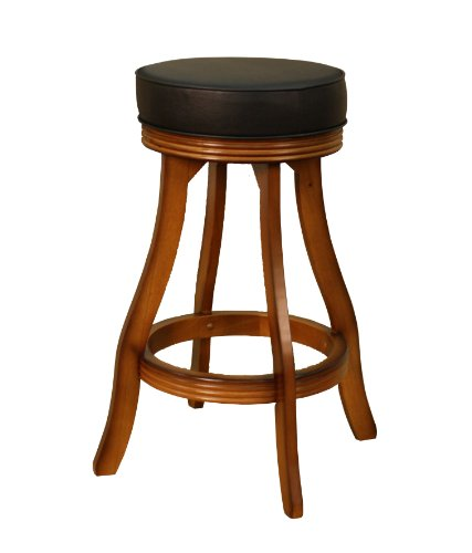 Oak Traditional Bar Stools (American Heritage Billiards Designer Stool, Vintage Oak)