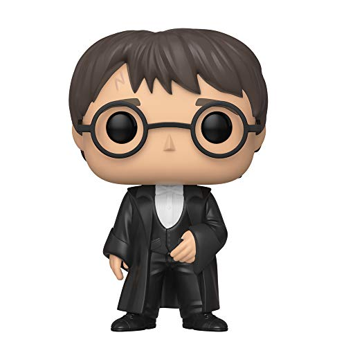 Funko Pop! Figura de Vinilo Harry Potter S7 - Harry Potter (Yule), Multicolor, Talla Unica