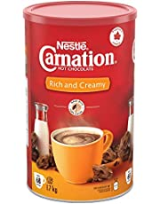 Carnation Hot Chocolate, Rich and Creamy, Canister, 1.7kg