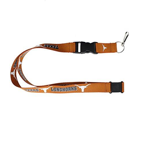 NCAA Texas Longhorns Team Lanyard, Orange (Texas Lanyard Longhorns)